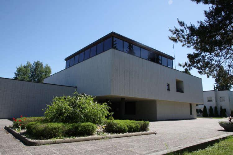 Ulvilan kaupungintalo, rakennettu