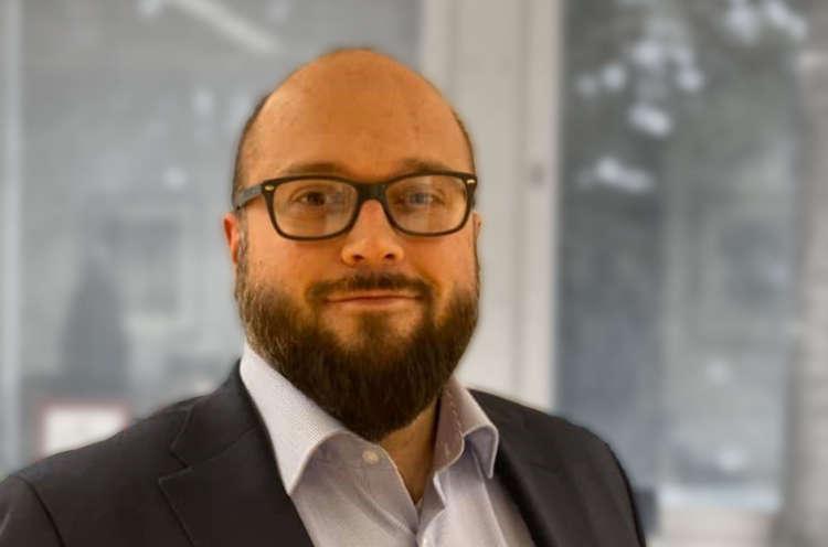 Kuvassa Ulvilan kaupunginjohtaja 1.1.2020 aloitttanut Mikko Löfbacka