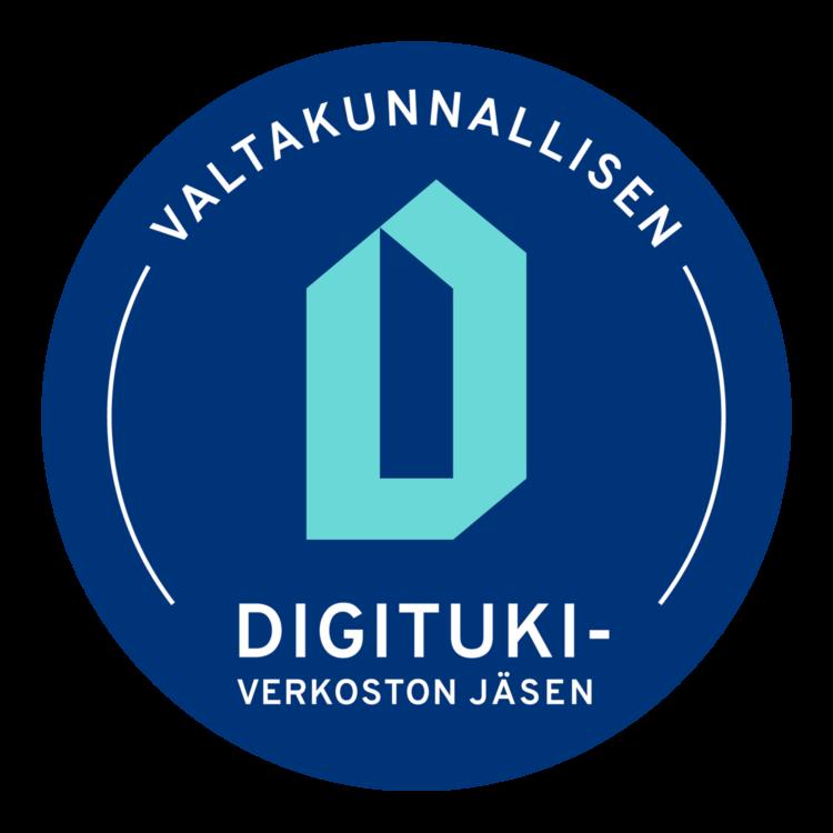 Olemme Digi- ja väestotietoviraston ylläpitämän valtakunnallisen digitukiverkoston jäsen